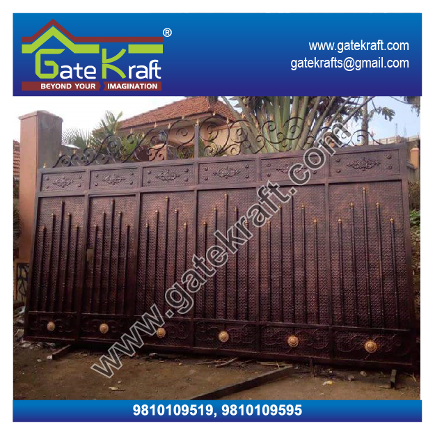 Stainless Steel Sliding Gate Manufacturers Fabrication In