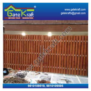 Ipe Wooden Cladding Steel Gate Dealers Suppliers Vendors Manufacturers in Delhi