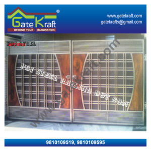 Entrance Steel ss ms gate designs Front gate for home in Delhi