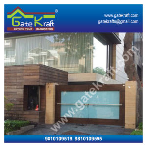 Stainless Steel Gates Images with Glass Dealers Suppliers Manufacturers in Delhi/Gurgaon