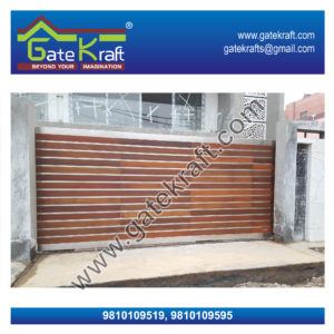 Ipe Wooden Cladding Steel Gate Dealers Suppliers Vendors Manufacturers in Delhi/Gurgaon