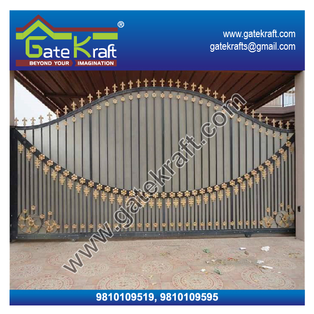 Automatic Sliding Gate Manufacturer From: Automatic Sliding Gate Fabrication Swing Gate