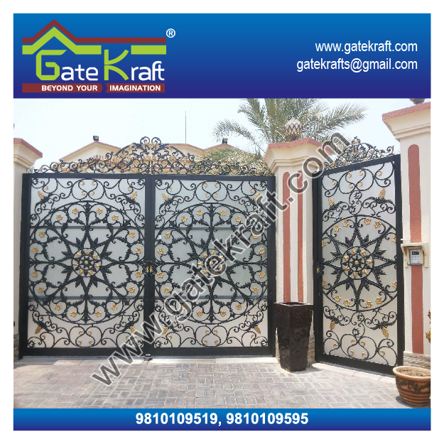 Cnc Design Ms Ss Gate Cast Iron Gate Manufacturers