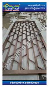 Single Door Steel Gate PVD Design Vendors Suppliers Dealers Manufacturers in Delhi