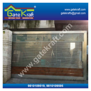 Stainless Steel Gates Images with Glass Dealers Suppliers Manufacturers in Delhi