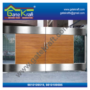 Stainless Steel Main Gate Design Catalogue Latest Model SS Suppliers Dealers Manufacturers in Delhi/Gurgaon