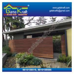 Ipe Wooden Cladding Steel Gate Dealers Suppliers Vendors Manufacturers in Gurgaon