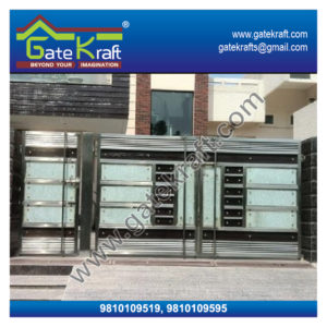 Stainless Steel Main Gate Design Catalogue Latest Model SS Suppliers Dealers Manufacturers in Gurgaon