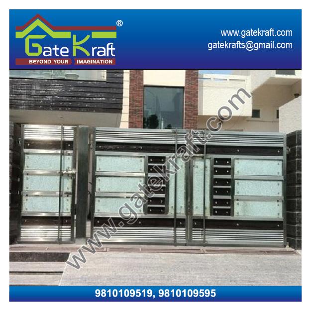 Stainless Steel Main Gate Design Catalogue Latest Model Ss