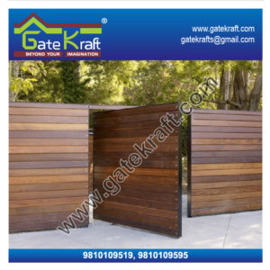 Stainless Steel Gate Designs with Wood Dealers Suppliers Manufacturers Fabrication in Gurgaon