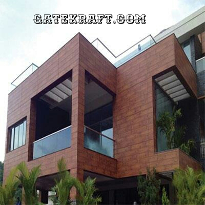 High Pressure Laminate HPL Front Elevation, Fundermax, Stylam Cladding ...