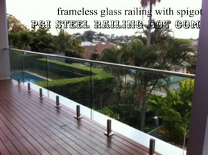 Balcony Glass Railing 01
