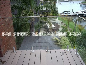 Balcony Glass Railing 02