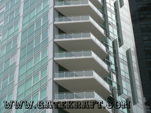 Balcony Glass Railing 07