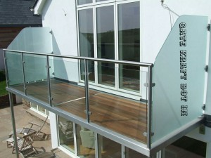 Balcony Glass Railing 08