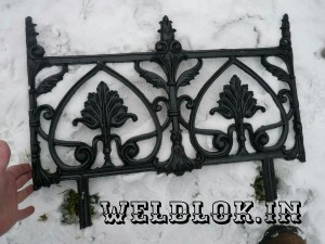 Cast Iron Railing 2