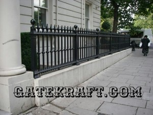 Cast Iron Railing 8