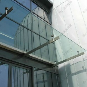 Glass Canopy Awning 2
