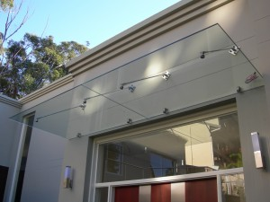 Glass Canopy Awning 3