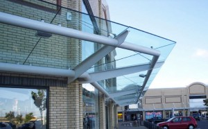 Glass Canopy Awning 5