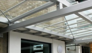 Glass Canopy Awning 7