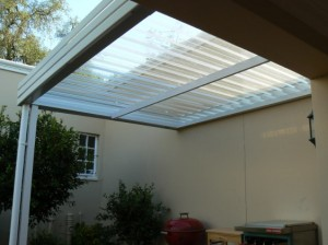 Glass Canopy Awning 8