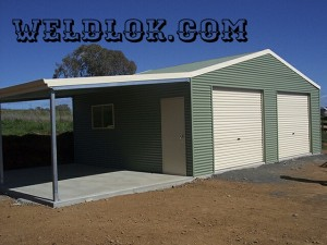 Residential Terrace Shed 4